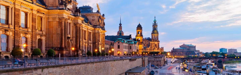 Dresden Reiseziel Brühlsche Terrassen